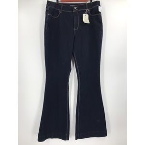 Maurices high rise dark wash bootcut jeans